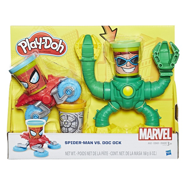Massinha Play Doh Playset Spider Man X  Dr Octopus - Hasbro