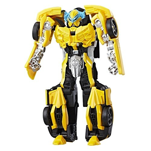 Transformers 5 Armadura de Cavaleiro Turbo Changer Bumblebee Hasbro