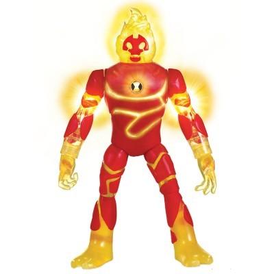 Ben 10 Boneco 10 Cm Heatblast - Com Luzes - Sunny