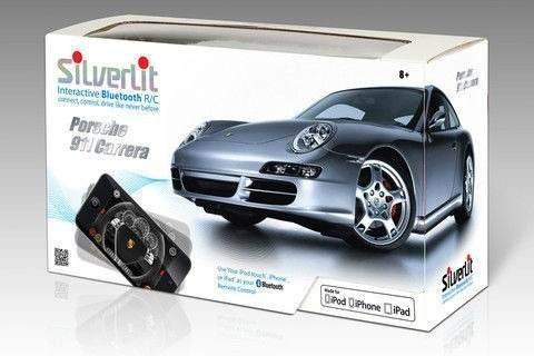 Porshe 911 Carrera R/c Bluetooth Silverlit / Dtc