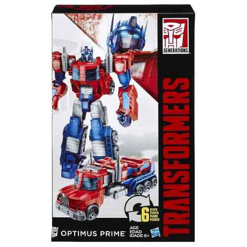 Boneco Transformers Optimus Prime Mega Cyber - 26cm - Hasbro