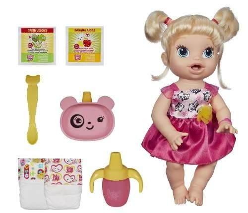 Boneca Baby Alive - Hora De Comer Loira - Hasbro