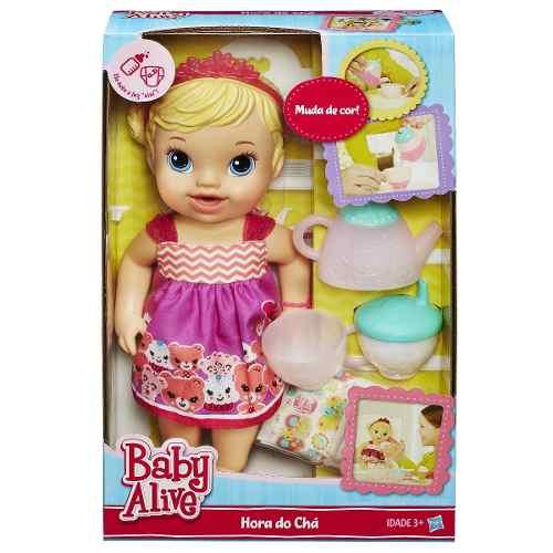 Boneca Baby Alive Chazinho Mágico Loira - Hasbro