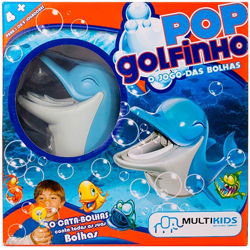 Jogo de Bolhas - Pop Golfinho - Multikids
