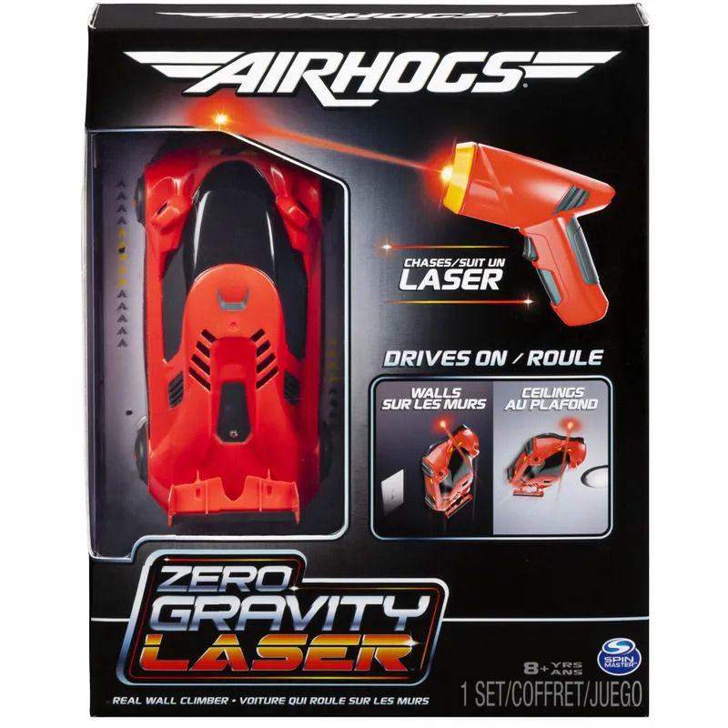 Air Hogs Laser Racer Zero Gravity -Veículo de Controle Remoto – Anda Parede e Teto – Sunny