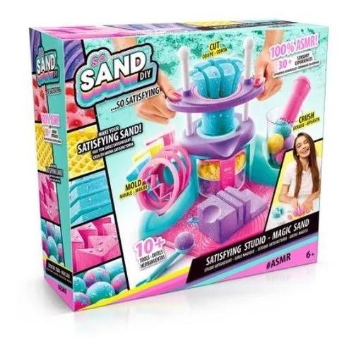 Areia Mágica Playset Asmr So Sand Studio  - Fun