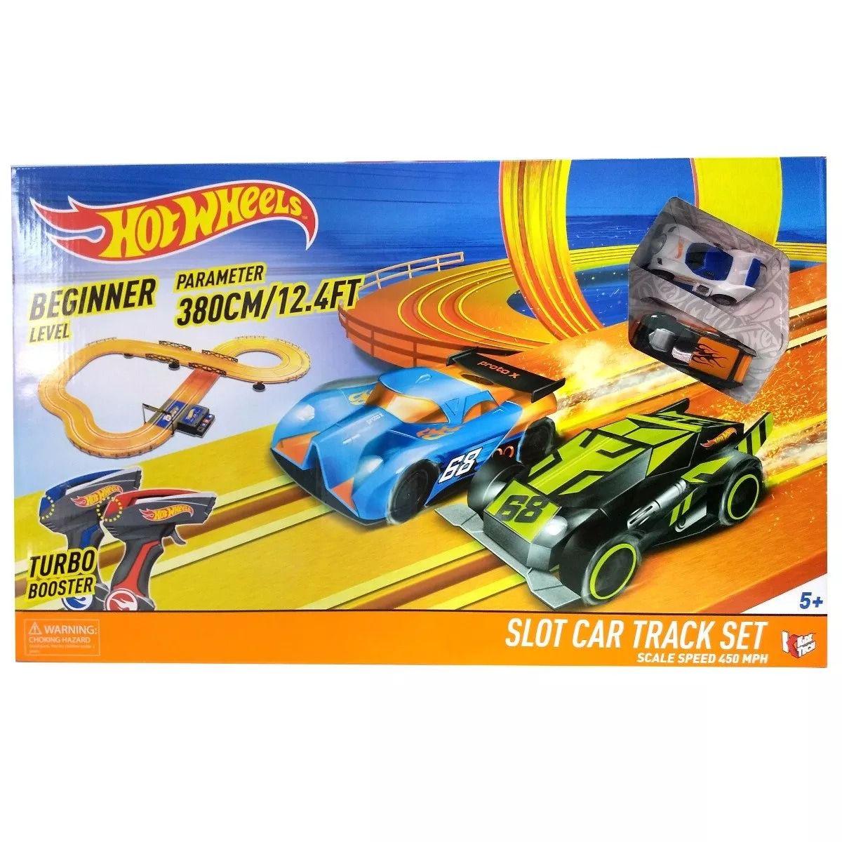 Autorama Hot Wheels Track Set Pista Com 380cm - Multikids  - Doce Diversão