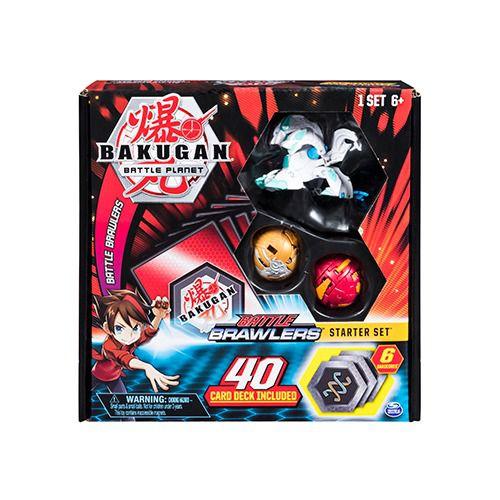 Bakugan Battle Brawlers Haos Howlkor – Kit  40 Cartas 6 Bakucores 3 Esferas  – Sunny