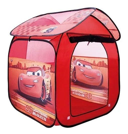 Barraca Toca Portátil Casa Carros Mcqueen Disney – Zippy Toys