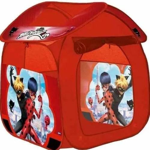 Barraca Toca Portátil Casa Miraculous LadyBug – Zippy Toys
