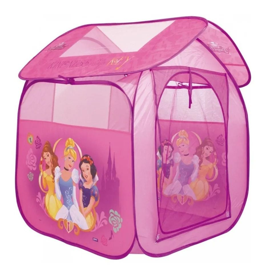 Barraca Toca Portátil Casa Princesas Disney – Zippy Toys