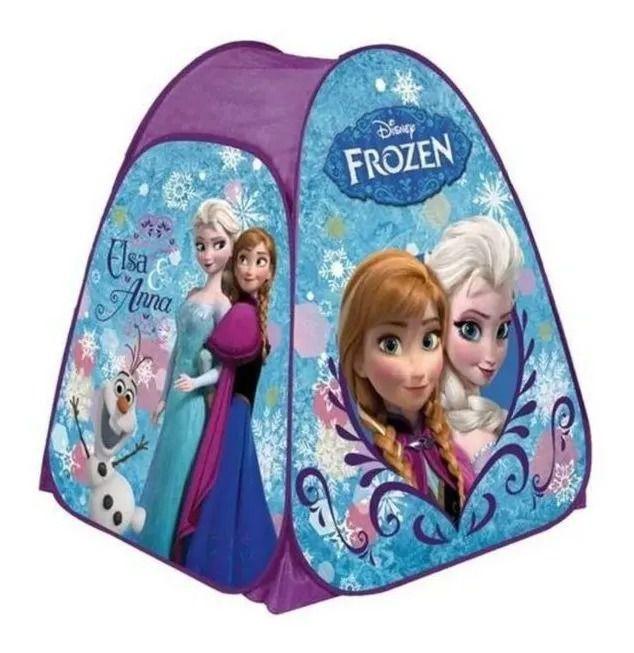 Barraca Toca Portátil Frozen Elsa e Anna Disney – Zippy Toys