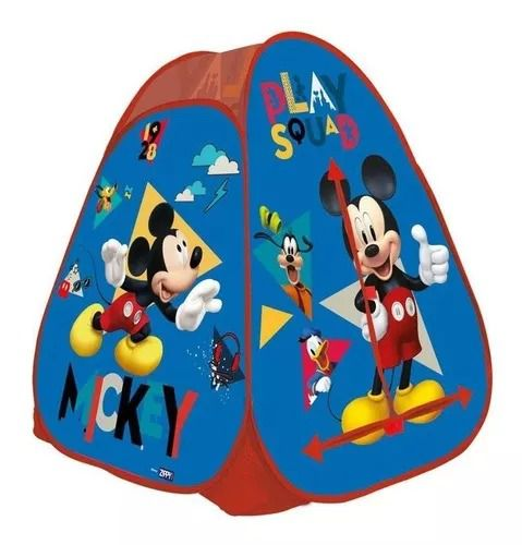 Barraca Toca Portátil  Mickey Disney  – Zippy Toys