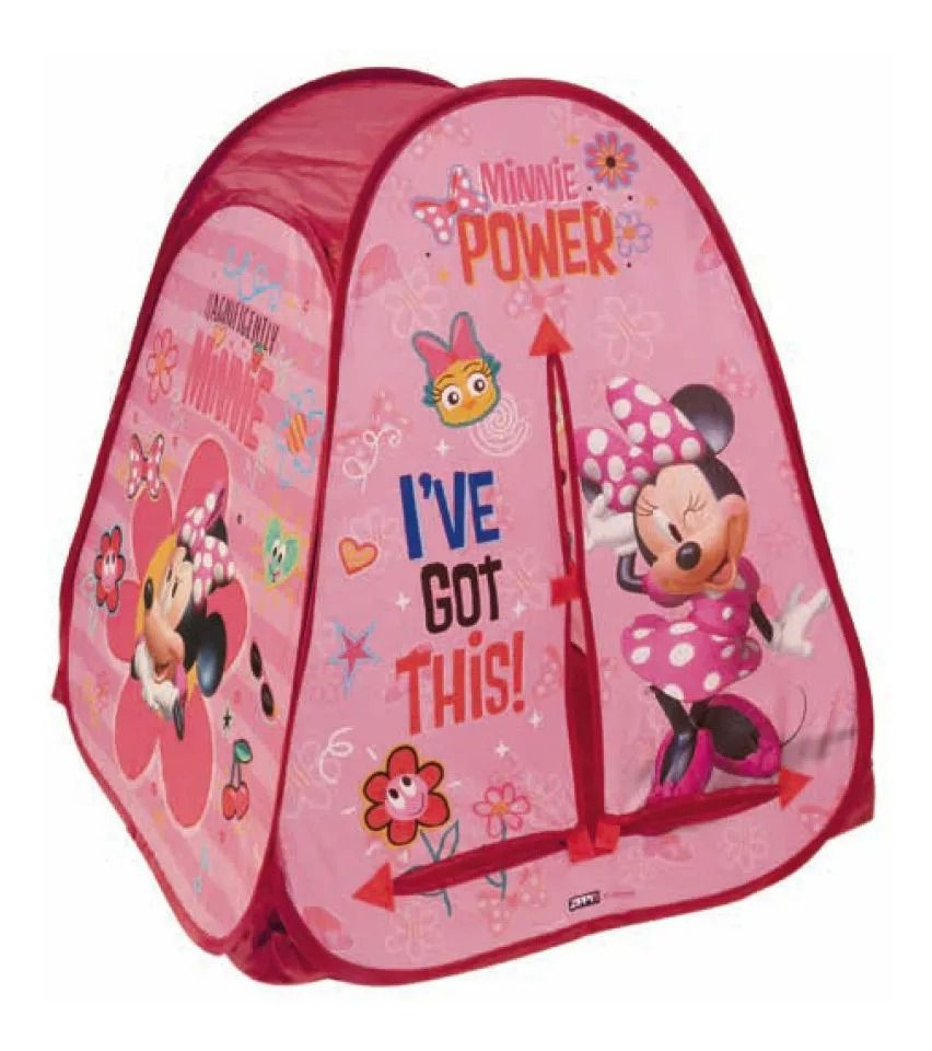 Barraca Toca Portátil  Minnie Disney – Zippy Toys