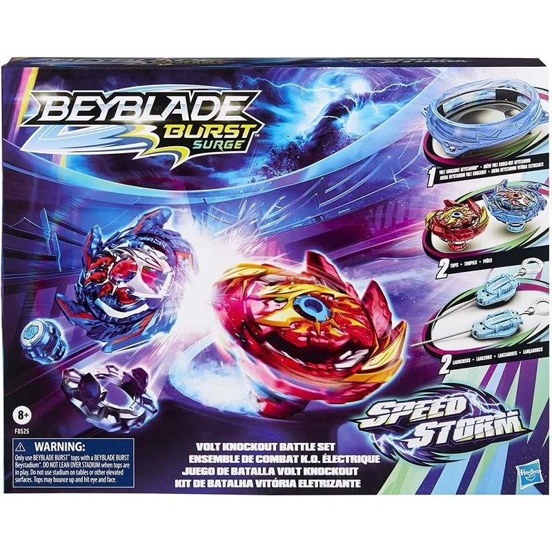 Beyblade Burst Surge Speed Storm - Kit Arena de Batalha Vitória Eletrizante  Hasbro
