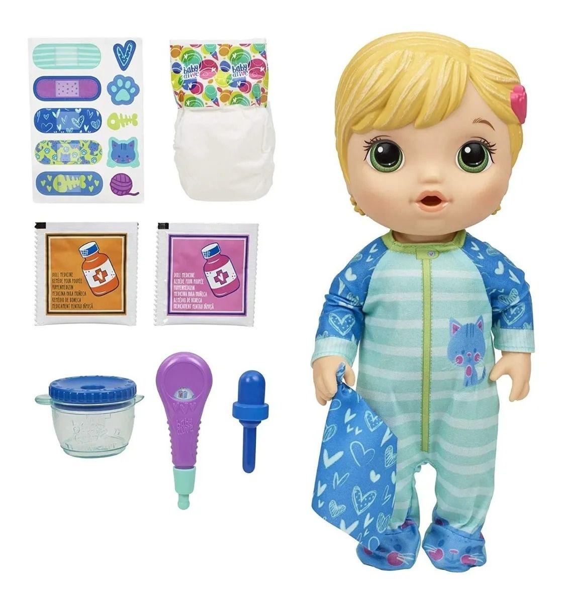 Boneca Baby Alive Aprendendo A Cuidar Loira – Hasbro