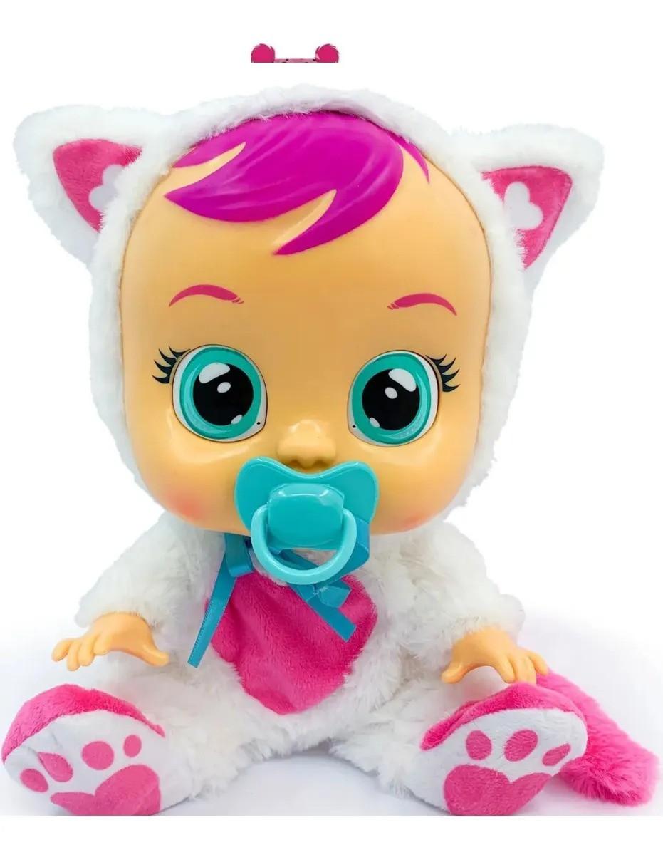 Boneca Cry Babies Daisy Chora Com Sons e Lágrimas de Verdade - Multikids
