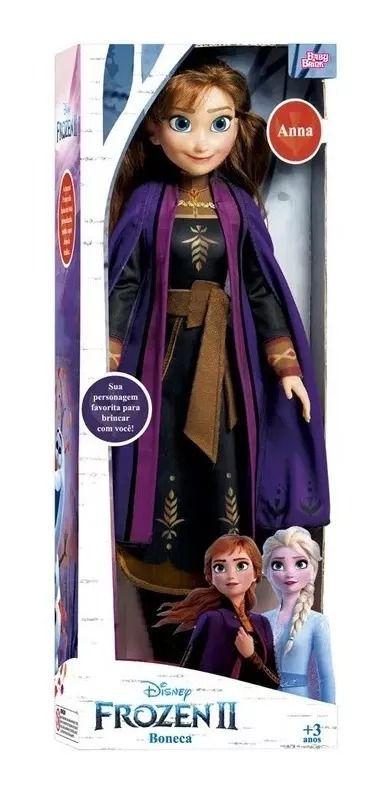 Boneca Frozen 2 Anna 55cm Disney – Baby Brink