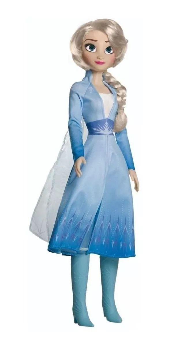 Boneca Frozen 2 Elsa Gigante 80 cm Disney – Baby Brink