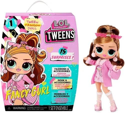 Boneca Lol Surprise Tweens Fashion Doll 15 Surpresas - Fancy Gurl - Candide
