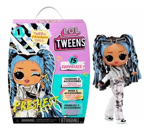 Boneca Lol Surprise Tweens Fashion Doll 15 Surpresas - Freshest - Candide