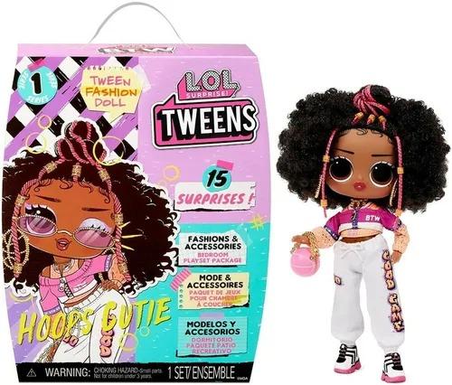 Boneca Lol Surprise Tweens Fashion Doll 15 Surpresas - Hoops Cutie - Candide