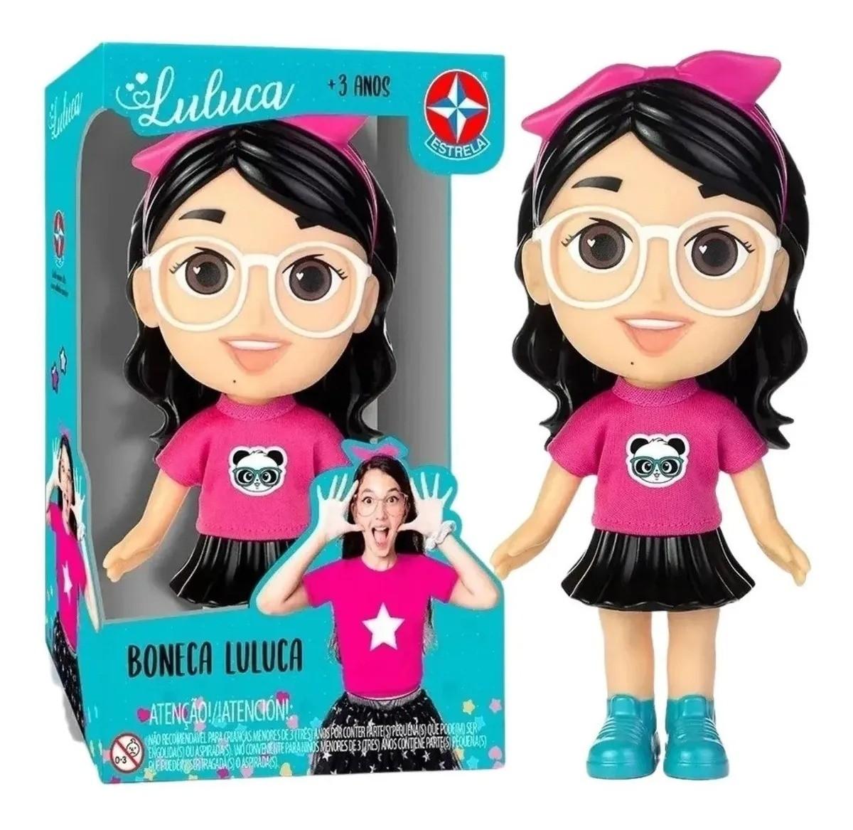 Boneca Luluca 20 Cm Youtuber - Estrela