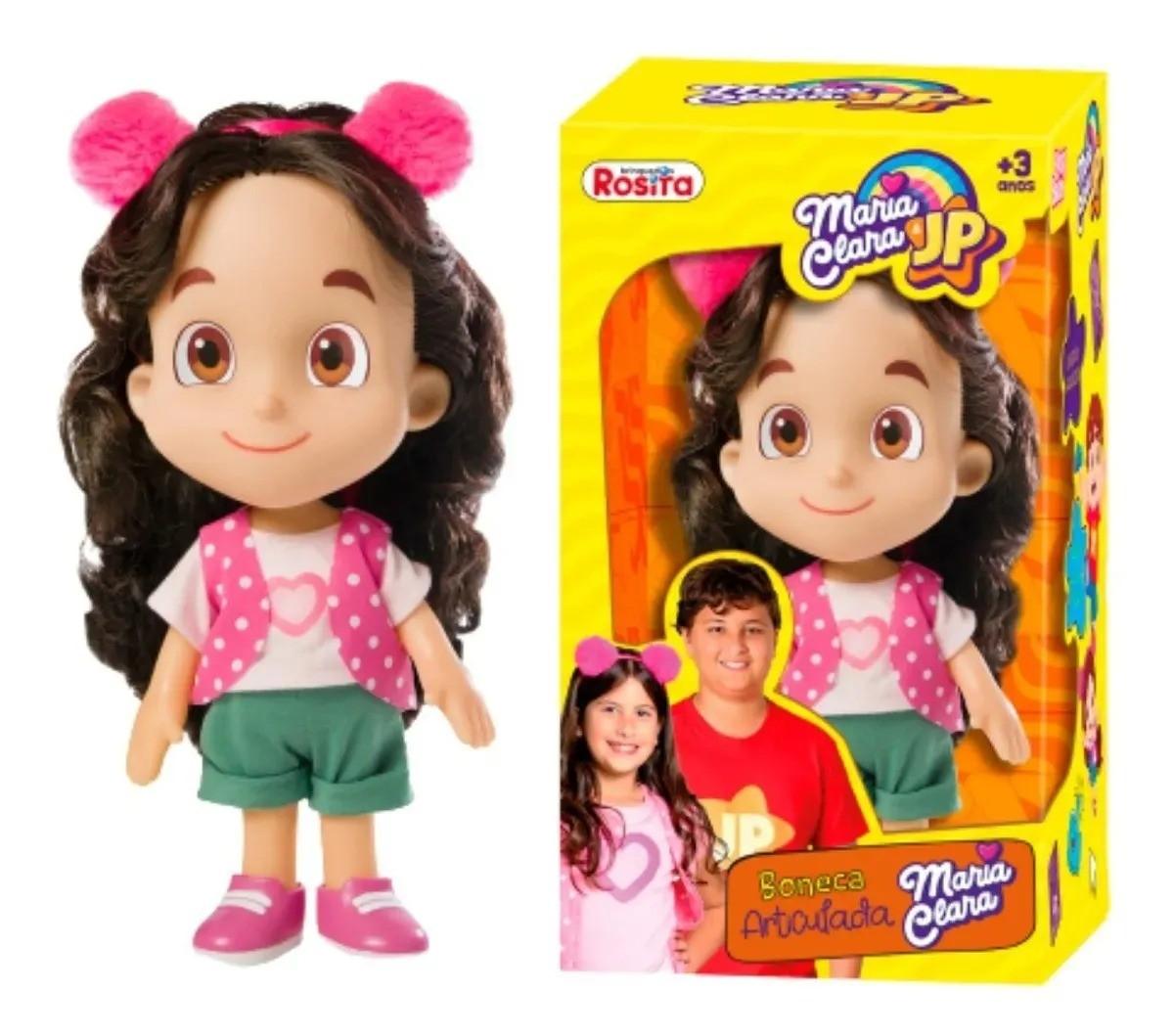 Boneca  Maria Clara Youtuber ( 27 cm articulado )  Baby Brink