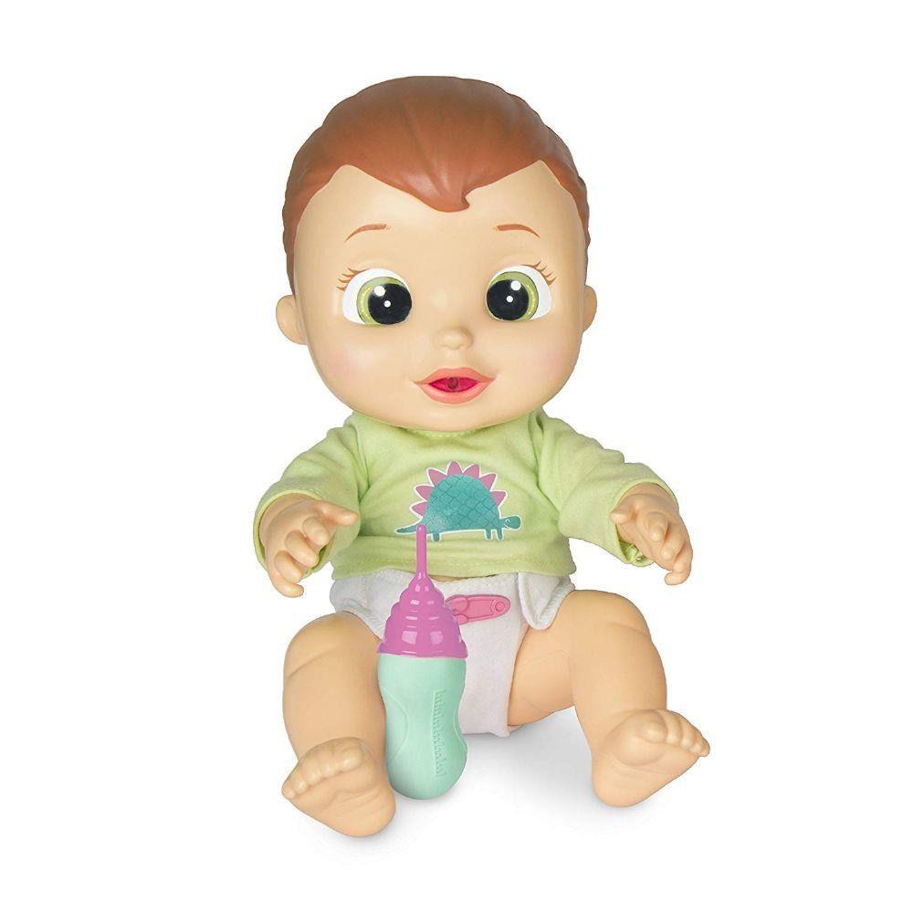 Boneco Baby Wee Max - 30 cm Com Som e Faz Xixi - Brinquedos Chocolate