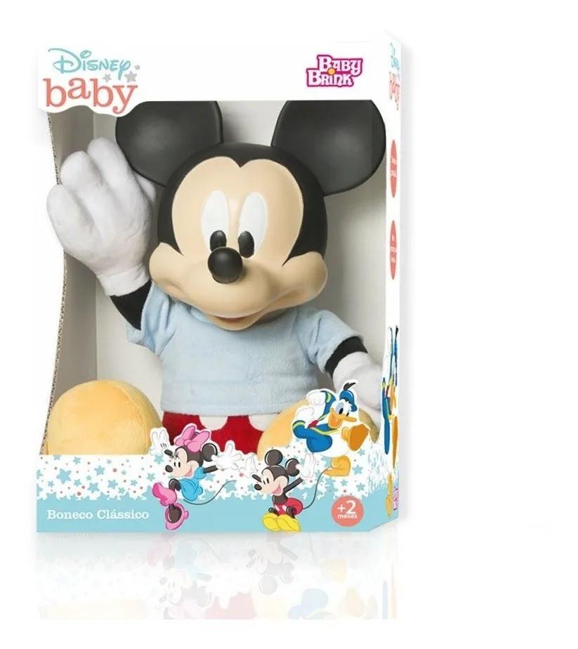 Boneco Clássico Disney Baby Mickey 52 cm - Baby Brink