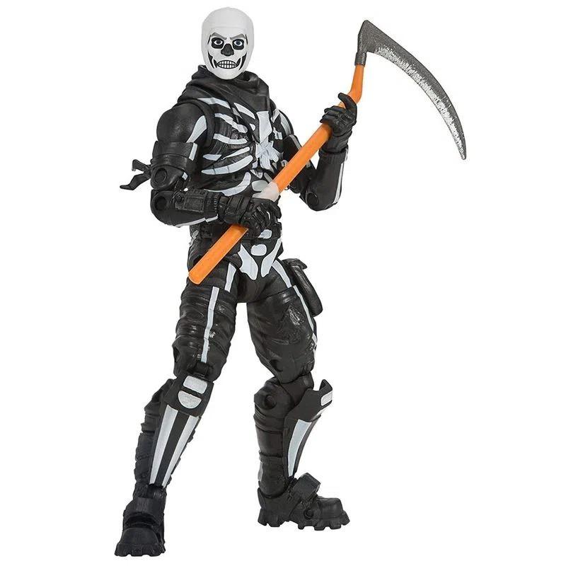 Boneco Fortnite Articulado C/ Acessorio - Skull Trooper 11cm - Sunny