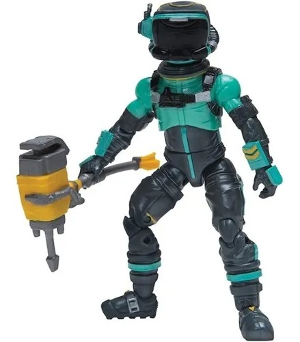 Boneco Fortnite Articulado C/ Acessorio – Toxic Tropper Soldat Toxique 11 cm - Sunny