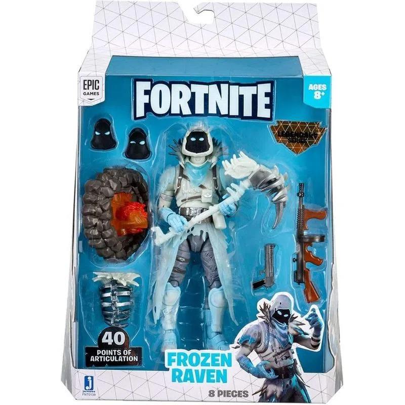 Boneco Fortnite Legendary Series - Frozen Raven 40 Pontos Articulações 15cm – Sunny
