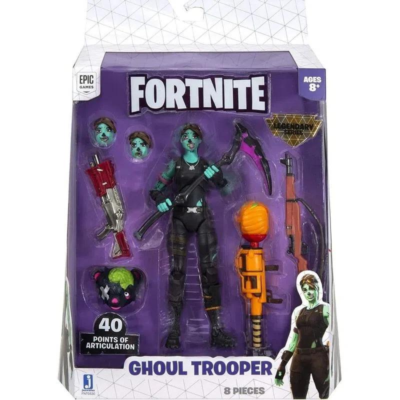 Boneco Fortnite Legendary Series - Ghoul Trooper 40 Pontos Articulações 15cm – Sunny