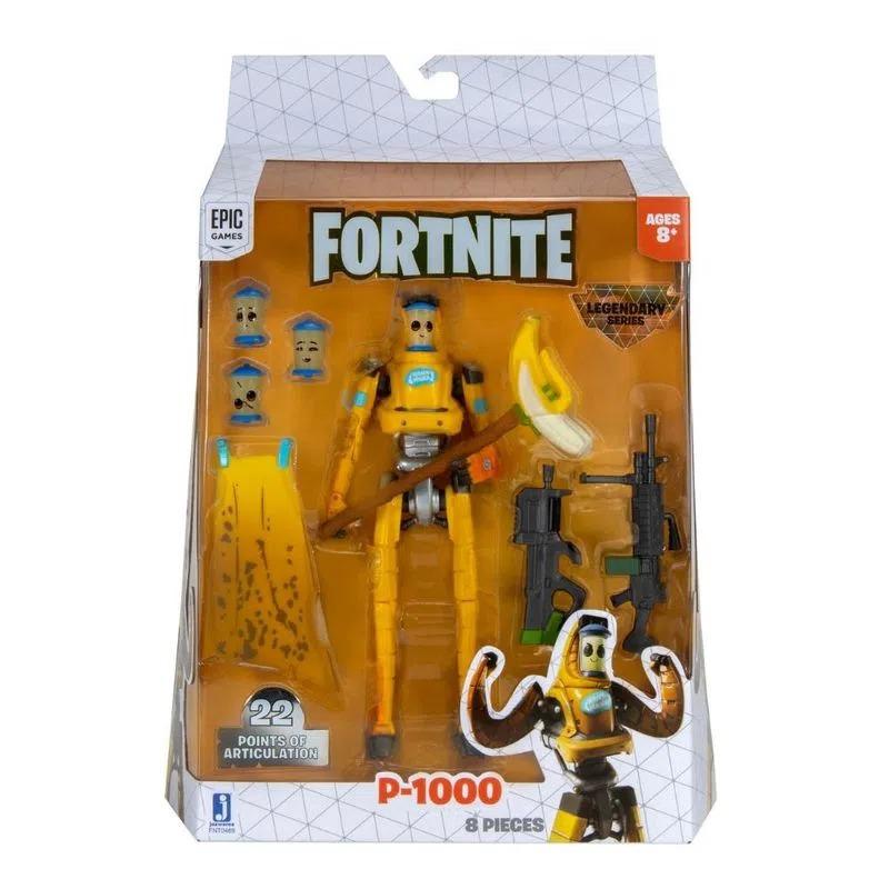 Boneco Fortnite Legendary Series P-1000 - 22 Pontos Articulações 15cm – Sunny