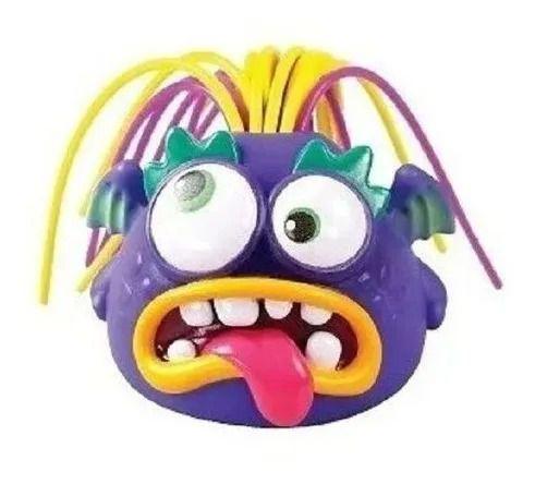 Boneco Monstro Galera Do Grito Roxo - Puxou Gritou – sons e música -  Dtc