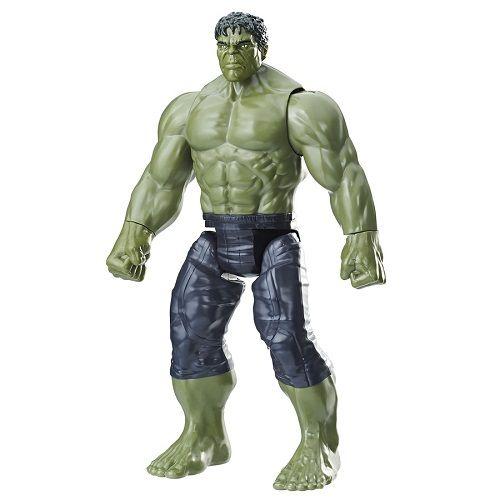 Boneco Hulk Power FX vingadores Guerra infinita 30 cm Hasbro