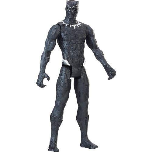 Boneco Marvel Pantera Negra - Black Panther Articulado 30cm  - Hasbro