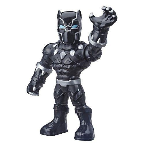 Boneco Playskool Hero Mega Mighty  Articulado 25 cm Pantera Negra - Hasbro