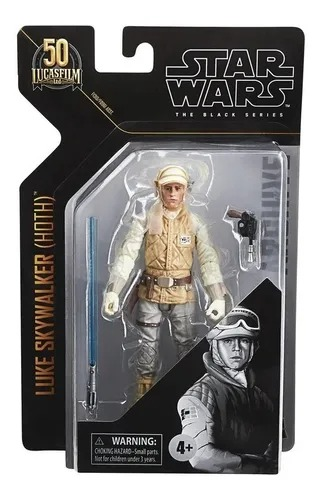 Boneco Star Wars Figura Black Series Luke Skywalker ( Hoth) Articulado 15 cm – Hasbro