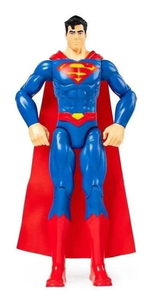 Boneco Superman Dc Comics Series Articulado 30 cm - Sunny