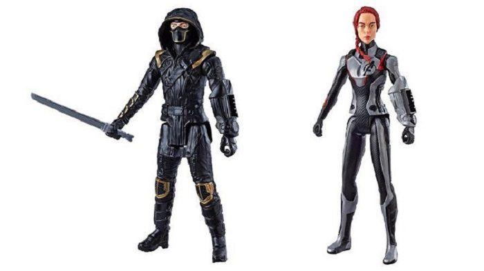 Boneco Titan FX Vingadores Ultimato – Ronin e Viúva Negra 30 cm Articulado - Hasbro