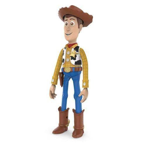 Boneco Woody Toy Story 4 – Sem Som 30 cm Articulado - Toyng  - Doce Diversão