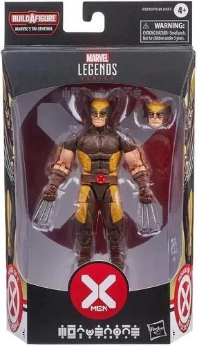 Boneco X-Men Marvel Legends Wolverine 15 cm Articulado - Hasbro