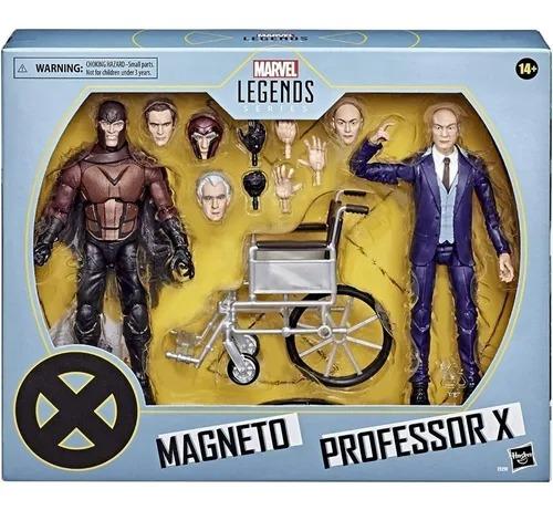 Bonecos Marvel Legends Series X Men - Magneto E Professor Xavier – Hasbro