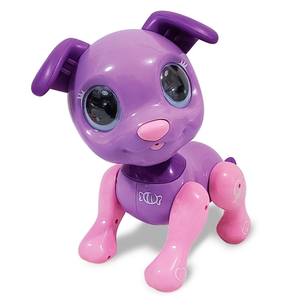 Cachorrinho Interativo Robô Smart Pet Jujuba -  Anda, Senta, Late,Dança - Toyng