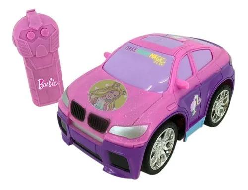 Carrinho Controle Remoto 3 funções - Barbie Style Machine  Candide