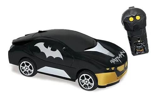Carrinho Controle Remoto 3 funções - Batman Vigilante Prata – Candide