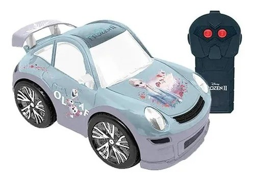 Carrinho Controle Remoto 3 funçoes - Frozen 2 Snow Machine Elsa  - Candide