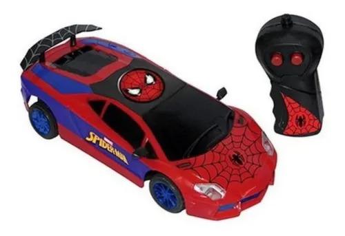 Carrinho Controle Remoto 3 funções - SpiderMan Homem Aranha Ultimate  Candide
